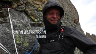 Simon Walfridsson - Sweedish fish/ climber