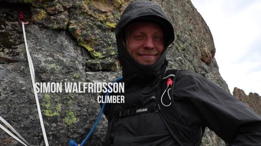 Simon Walfridsson - Sweedish fish/ climber